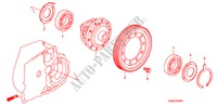 DIFFERENTIAL für Honda Auto CIVIC 1.8 BASE 5 Türen 5 gang automatikgetriebe 2009