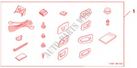 PARKING AID CAMER für Honda Auto CIVIC 1.8 BASE 5 Türen 5 gang automatikgetriebe 2009