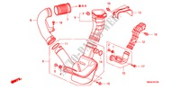 RESONATORKAMMER(1.8L) für Honda Auto CIVIC 1.8 BASE 5 Türen 5 gang automatikgetriebe 2009