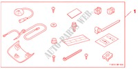 RR FOOT L*NH167L* für Honda Auto CIVIC 1.8 BASE 5 Türen 5 gang automatikgetriebe 2009