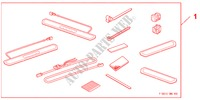 SIDE STEP ILLUMI 5DOOR  BLUE für Honda Auto CIVIC 1.8 BASE 5 Türen 5 gang automatikgetriebe 2009