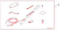 SSD NAVI ATTACHMENT für Honda Auto CIVIC 1.8 BASE 5 Türen 5 gang automatikgetriebe 2009