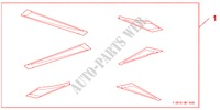 TYPE R RACE STICK für Honda Auto CIVIC 1.8 BASE 5 Türen 5 gang automatikgetriebe 2009